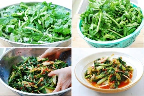 Yeolmu-kimchi (Kim chi dưa cải củ)
