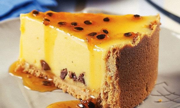 Cách làm bánh Cheesecake Chanh Leo
