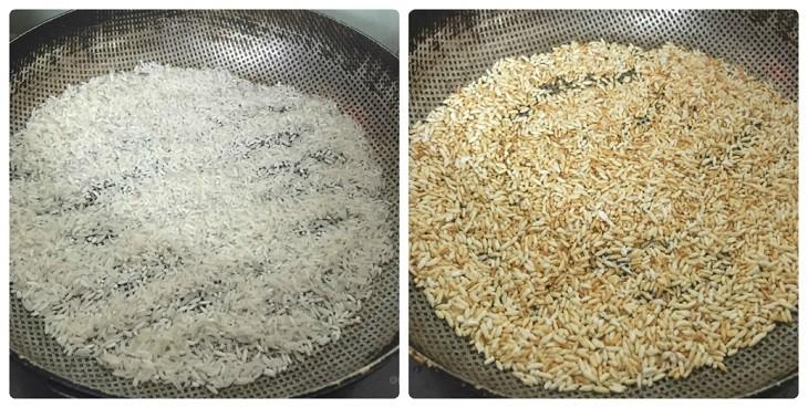 Cách làm sữa gạo rang
