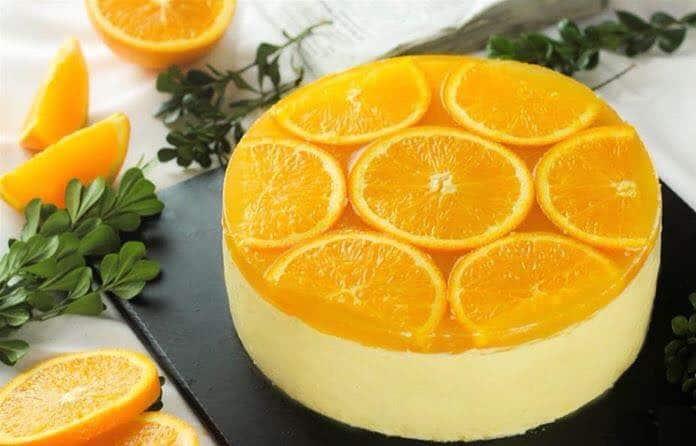 cách làm bánh cheesecake cam