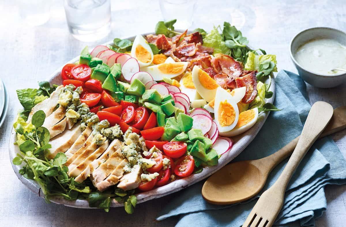 Cách Làm Salad Cobb