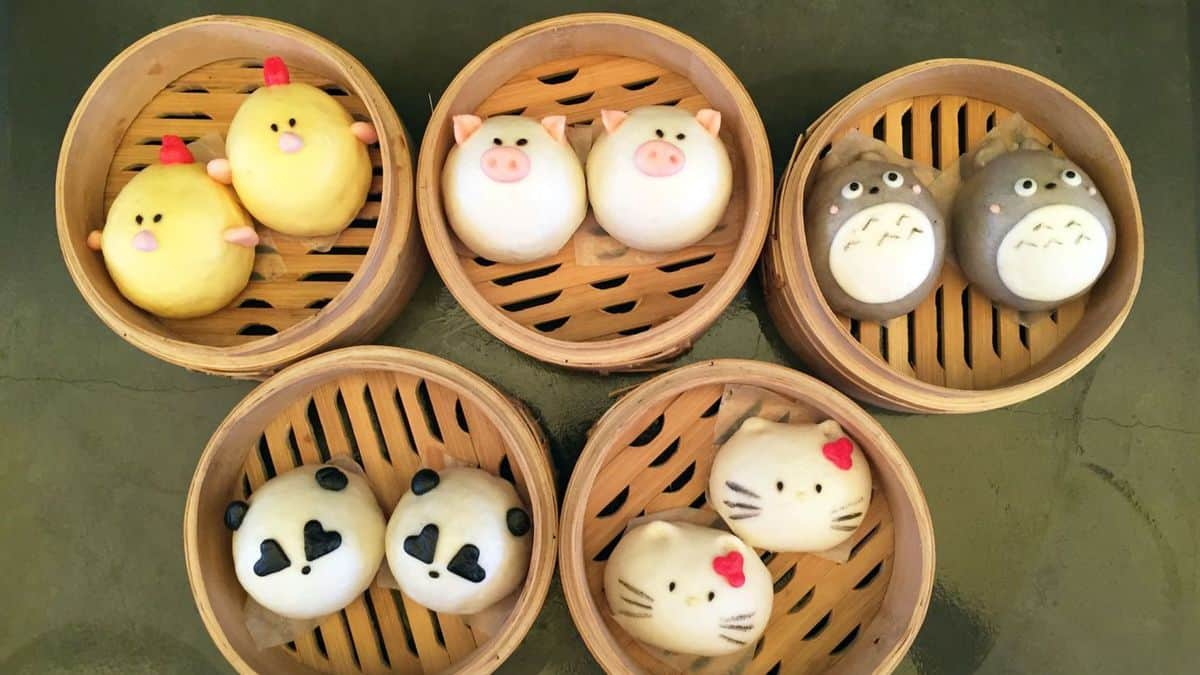 Cute, soft, cuddly and edible: Check out Harumama's tasty character buns - The San Diego Union-Tribune