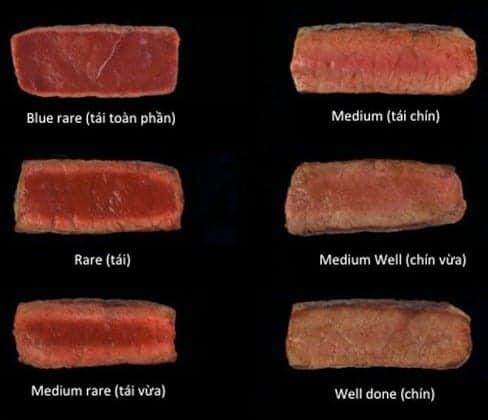 cách làm bò bít tết
