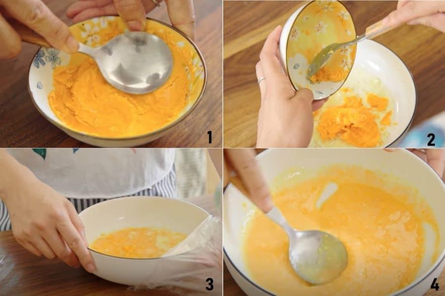 Cách Làm Bánh Trung THu Lava Trứng Muối Tan Chảy Ngon Tuyệt
