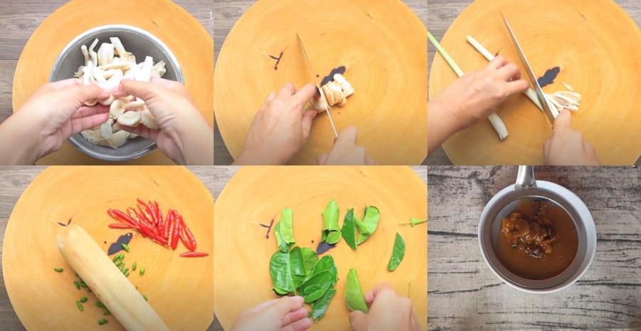 Cách làm lẩu hải sản 3