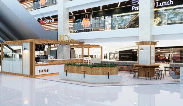 KOI Thé Cafe Vincom Mega Mall Quận 2
