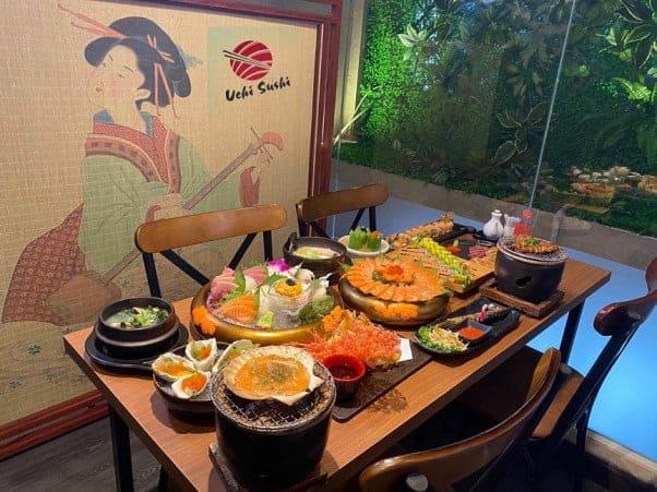 Nhà hàng Buffet Uchi Sushi