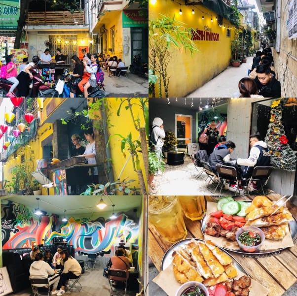 Quán ăn vặt hà nội - KuDo Bánh Mì Nướng Lạng Sơn