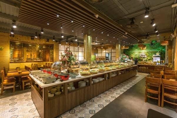 Nhà hàng Buffet Chay Hương Thiền